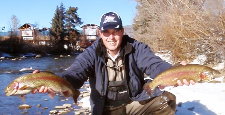 JANUARY 10TH, 2012 COLORADO TROUT HUNTERS COLORADO FLY FISHING TRIP REPORT