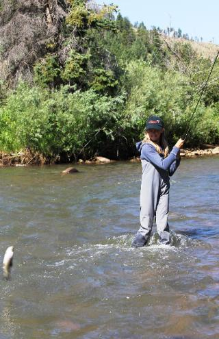 AUGUST, 2011 COLORADO TROUT HUNTERS COLORADO FLY FISHING LESSON