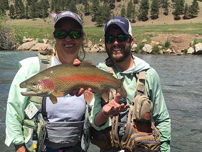 Perfect South Platte Rainbow Trout