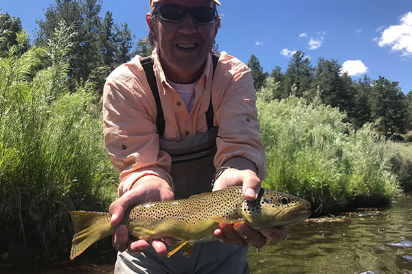 Brown Trout from the South Platte