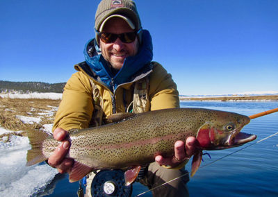 Winter guide trips on the Dream Stream