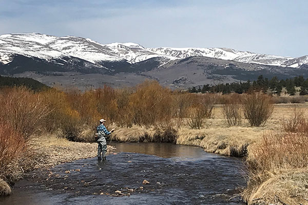 Fly Fishing the High Country in South Park Colorado