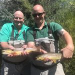 Doubled up on a guide trip to the South Platte near Deckers