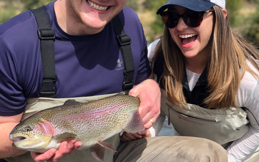 Guided Fly Fishing Trip for a Surprise Birthday Present