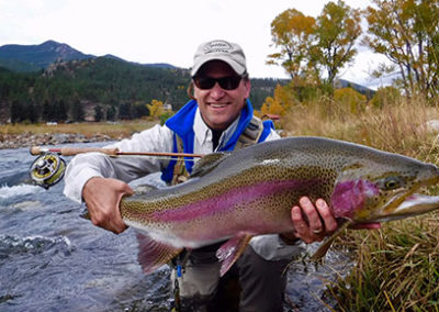 A trophy trout for the South Platte River.