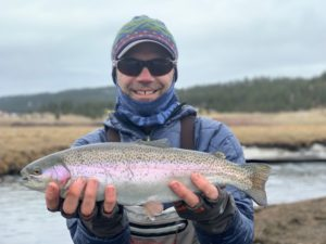 Private water guided fly fishing trips.