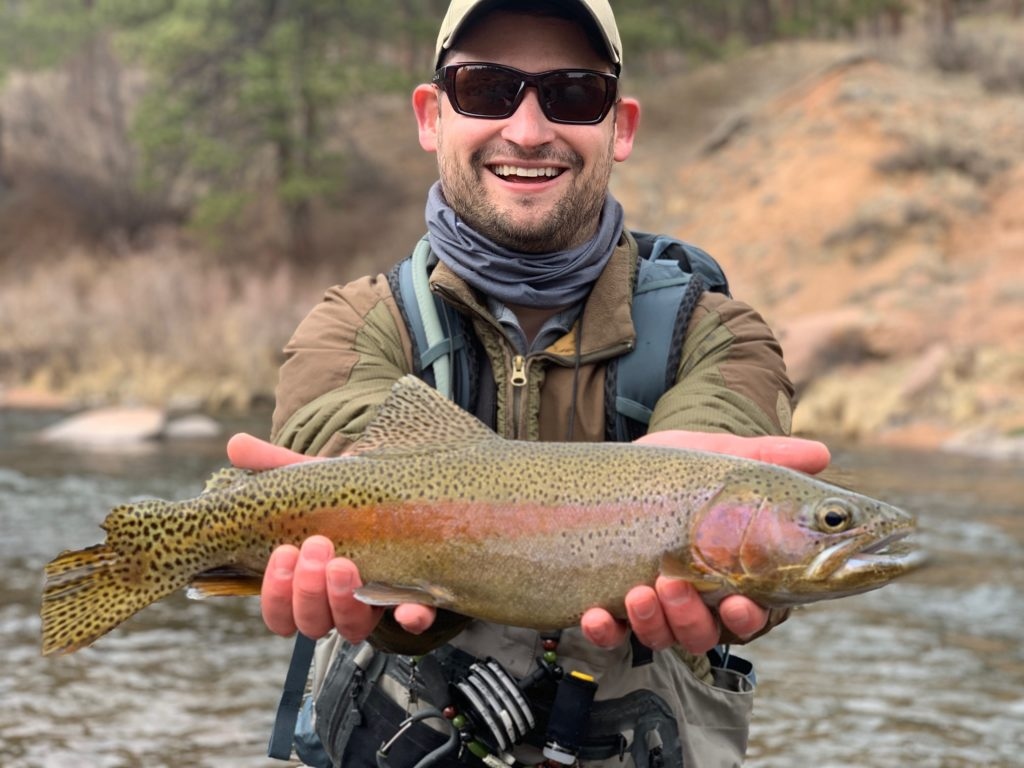 Guided fly fishing for trophy trout in Colorado.