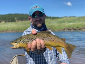 Abell River Ranch brown trout.