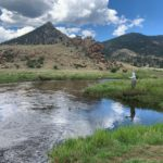 Tarryall Creek guided fly fishing trip.
