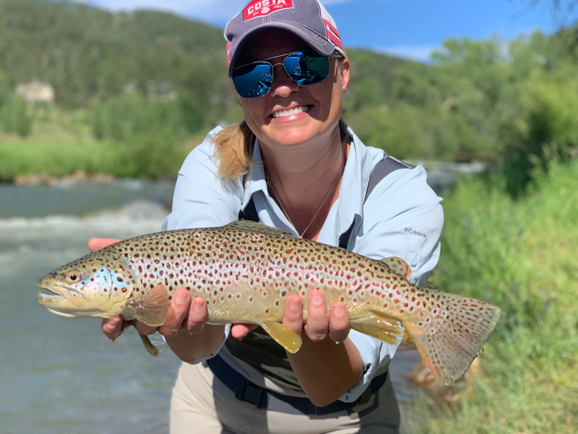 Big Brown Trout just outside of Denver Colorado.