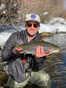 Using sight fishing to target trophy trout.
