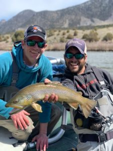 Guides day off! Trophy Brown Trout from the Colorado River.