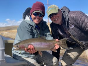 Trophy Rainbow from the North Platte River in Wyoming