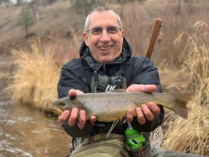 Cutbow trout from the South Platte River.