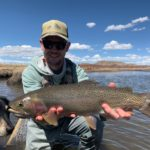 Chris Pandolfi of the Infamous String Dusters with a great fishing from South Park Colorado.