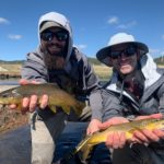 Doubles from a guided fly fishing trip near Lake George Colorado.