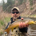 Deckers Fly fishing guided trip.