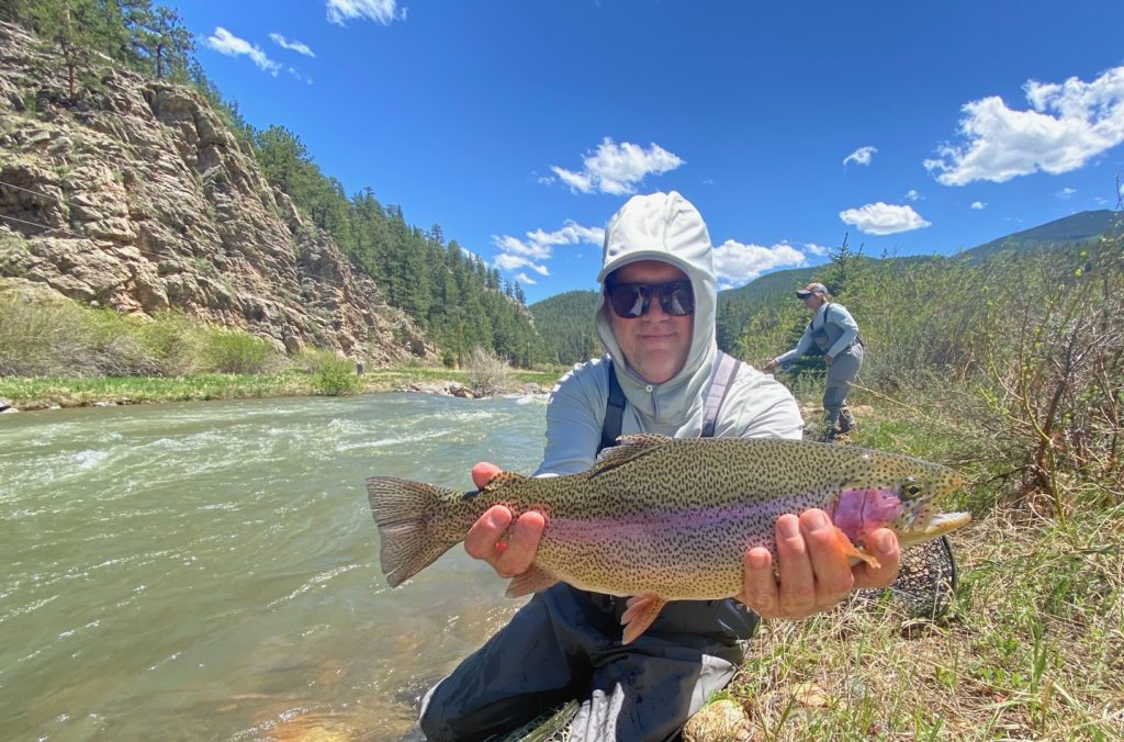 Guided Fly Fishing trips on Rawhide Ranch