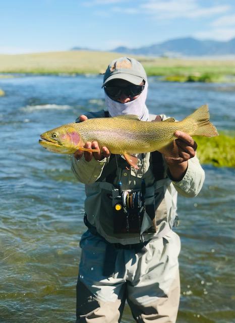 Dream Stream fly fishing guide Floyd Wright